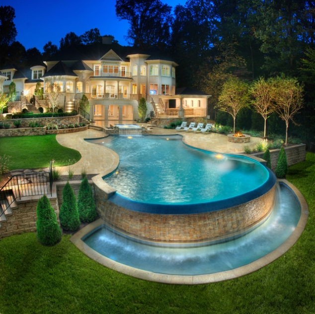 Dream House & Pool - FaveThing.com on Dream Backyard With Pool id=12070