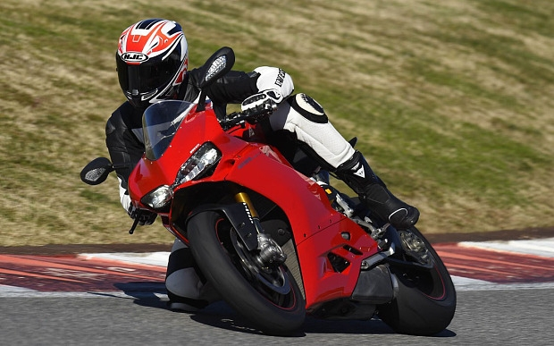 Ducati Panigale Superbike Motorcycle