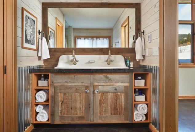 Farm Style Bathroom Vanity