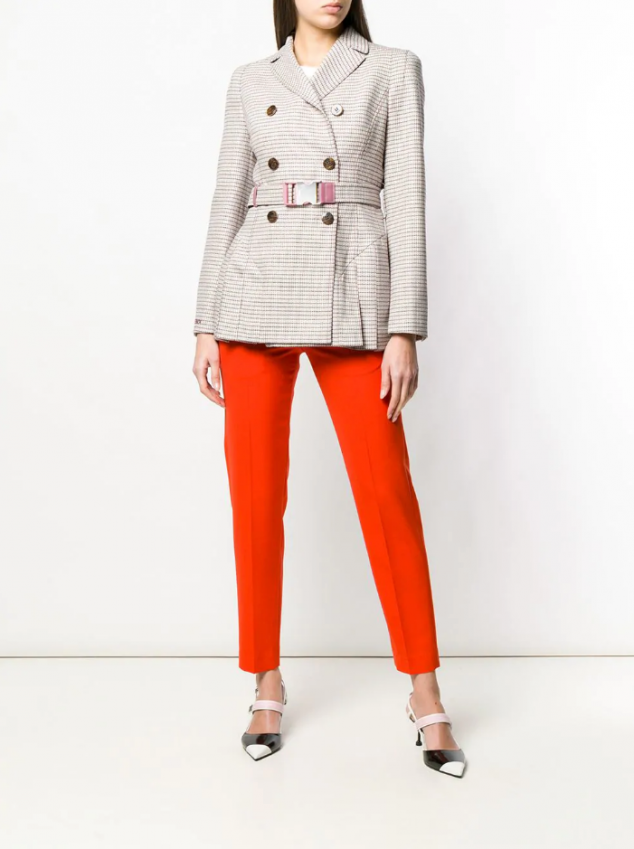 Fendi Short Trench Jacket