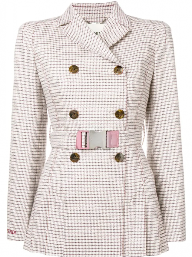 Fendi Short Trench Jacket - Image 3