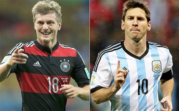 FIFA World Cup final 2014: Germany vs Argentina