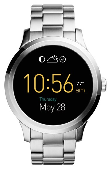 Fossil Q - Founder Round Bracelet Smart Watch, 46mm by Fossil