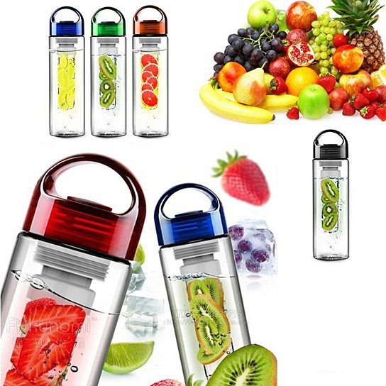 Fruit Infuser Water Bottle from Fruitzola