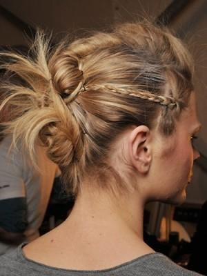 Funky Knot And Braid Updo