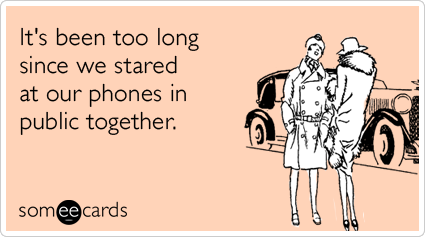 Funny cell phone e card