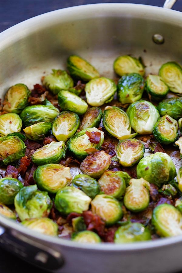 Garlic-Prosciutto Brussels Sprouts - Image 3