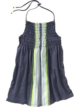 Girls Smocked Halter Top from Old Navy