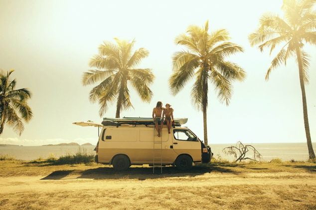 Goin' Beach to Beach - Van Life - Image 2
