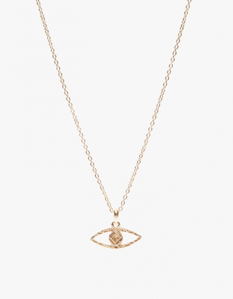 Gold tone Osiris Necklace