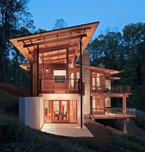Modern Country Homes Design: Great Modern House Design For A Country Home