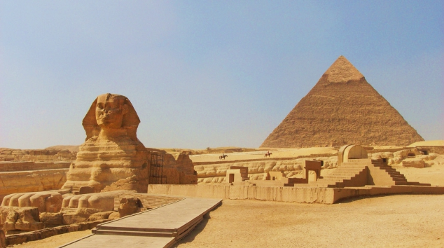 Great Sphinx of Giza and the Pyramid of Khafre in Egypt [photos] - Image 3