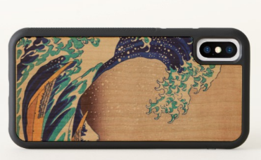 Great Wave Off Kanagawa iPhone X Protective Case - Image 2