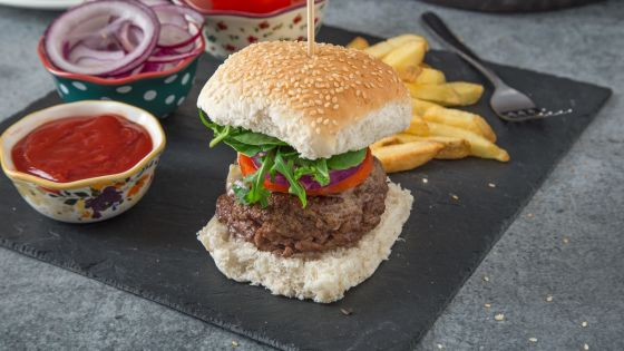 Grilled Herb-Garlic Butter Burgers - Image 2