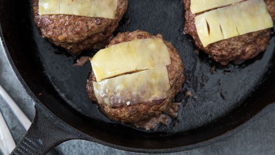 Grilled Herb-Garlic Butter Burgers - Image 3