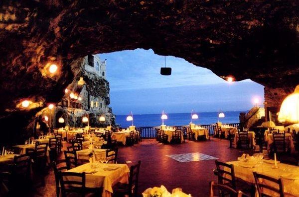 Grotta Palazzese Polignano A Mare Italy