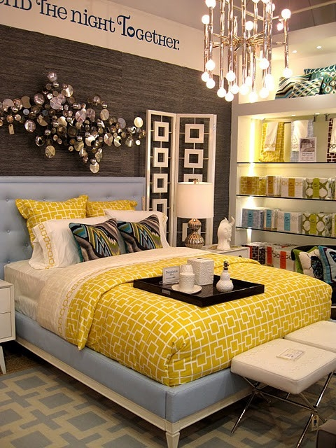 Guest room decoration ideas yellow decor Yellow room design ideas