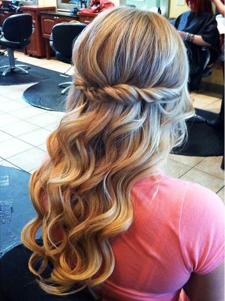 Half Up Half Down Hairstyles - Image 2