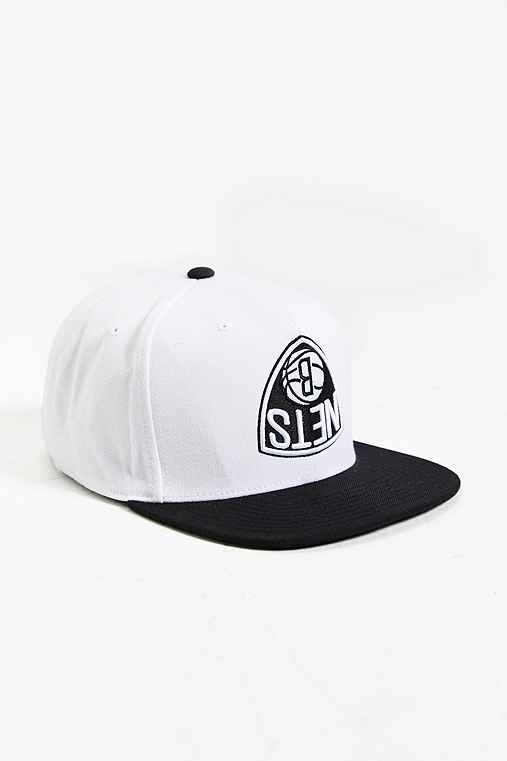 Hall Of Fame X Mitchell & Ness Brooklyn Nets Upside-Down Snapback Hat