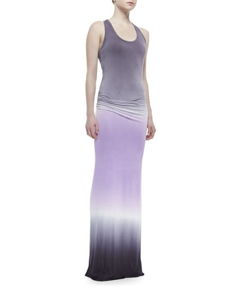 Hamptons Ombre Jersey Maxi Dress by Young Fabulous and Broke