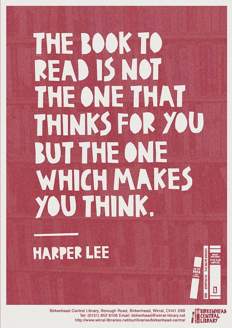 Harper lee quote in quotes amp other things
