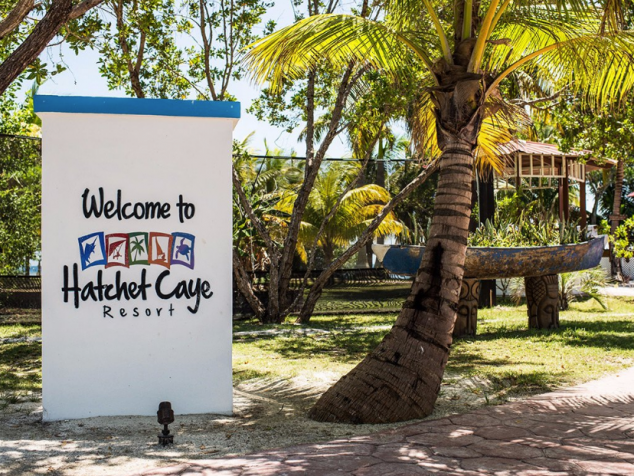 Hatchet Caye, Belize private island resort