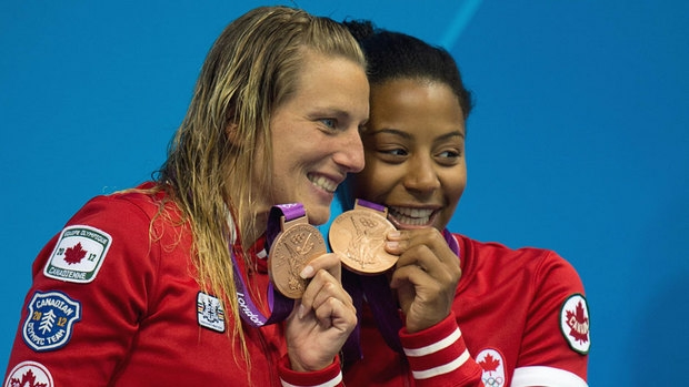 Heymans, Abel capture Canada's 1st medal at Olympics