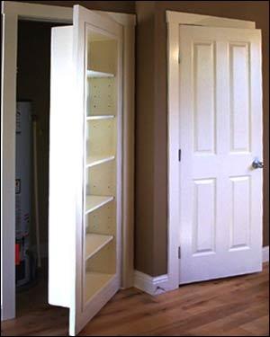 Hidden Passage Doorways Bookshelf Closet