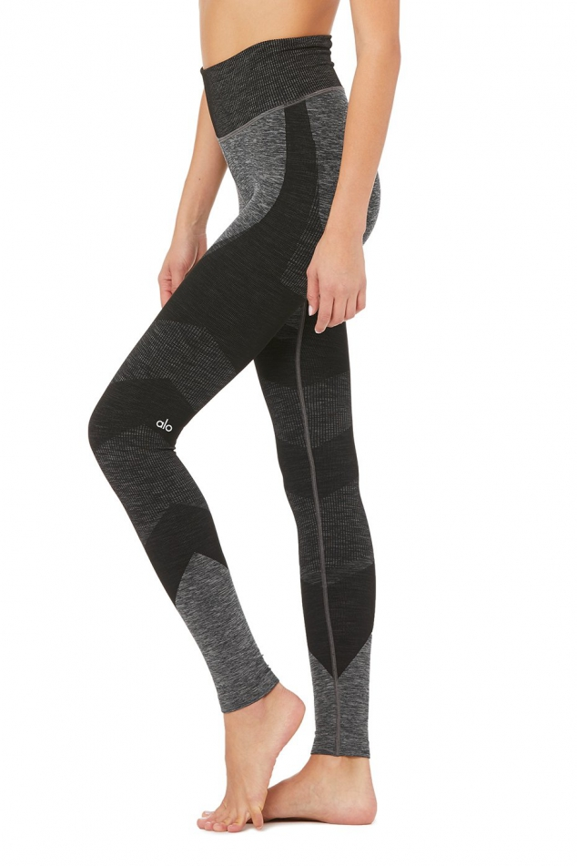 High-waist Seamless Lift Leggings - Image 2