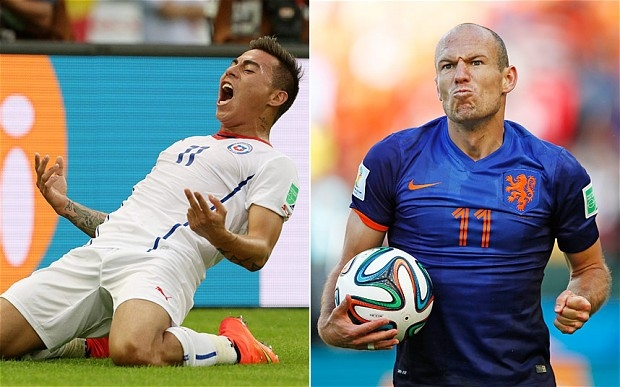 Holland vs Chile today at 1PM