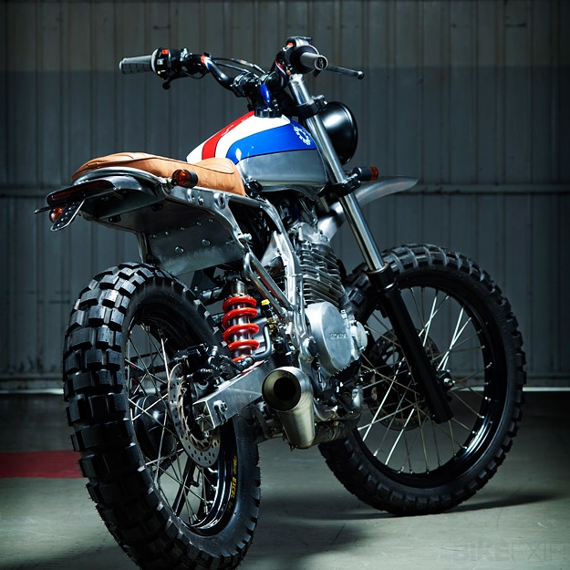 Honda NX650 Custom by Kiddo Motors - Image 2