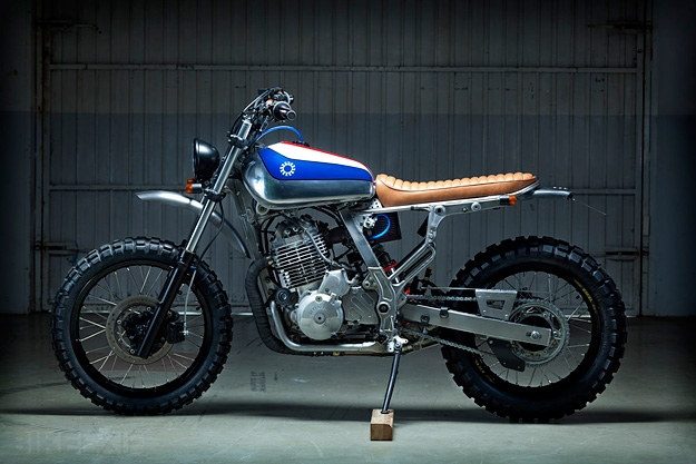 Honda NX650 Custom by Kiddo Motors - Image 3