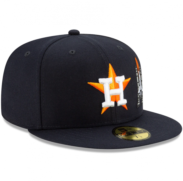 Houston Astros New Era Team Fitted Hat