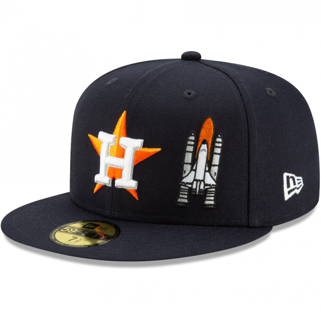 Houston Astros New Era Team Fitted Hat - Image 3
