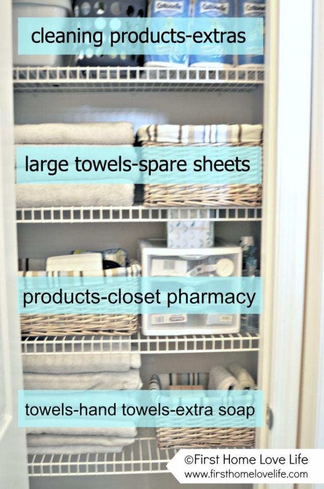 How to Organize the Linen Closet  - Image 2