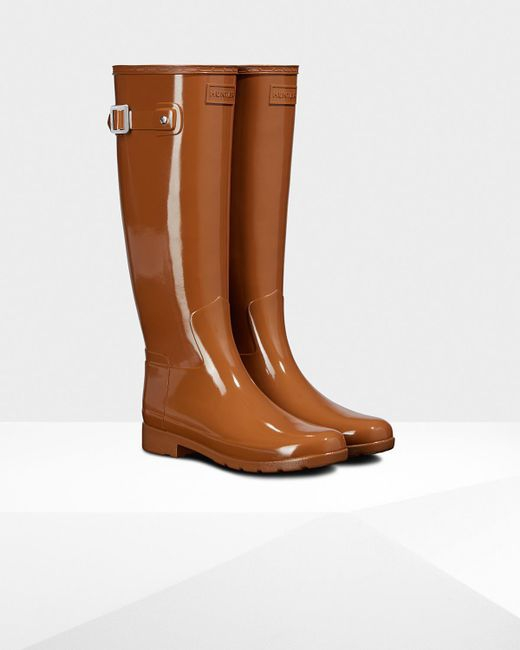 Hunter Women's Original Refined Tall Hybrid Rain Boots