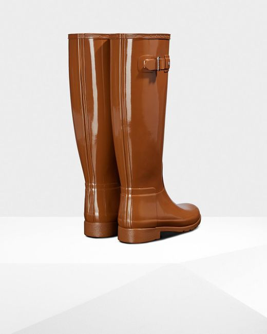 Hunter Women's Original Refined Tall Hybrid Rain Boots - Image 2