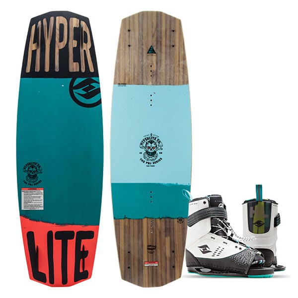 Hyperlite 2018 Men's Pbj Wakeboard with focus Bindings