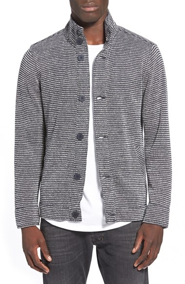 Kane & Unke French Terry Knit Jacket