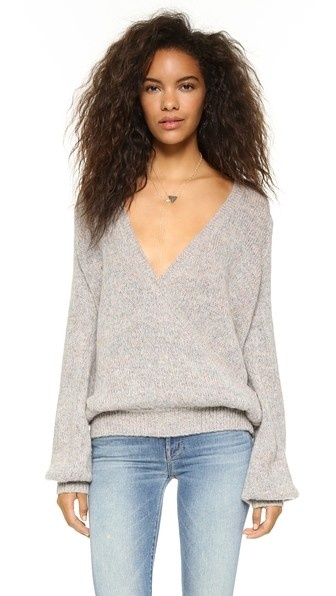 Karina Wrap Sweater by Free People