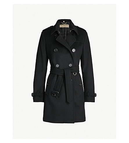 Kensington Wool and Cashmere-blend Coat