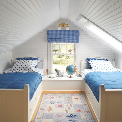 Kids attic bedroom