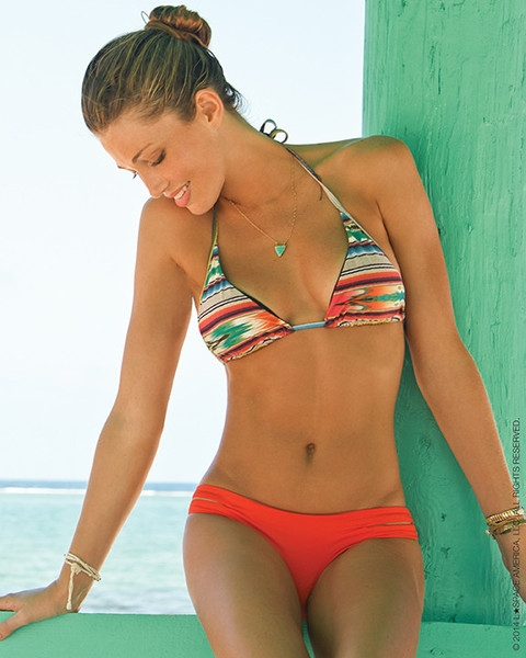 L*Space Cozumel Bikini Top and Bottom on Irina Shayk - Image 3