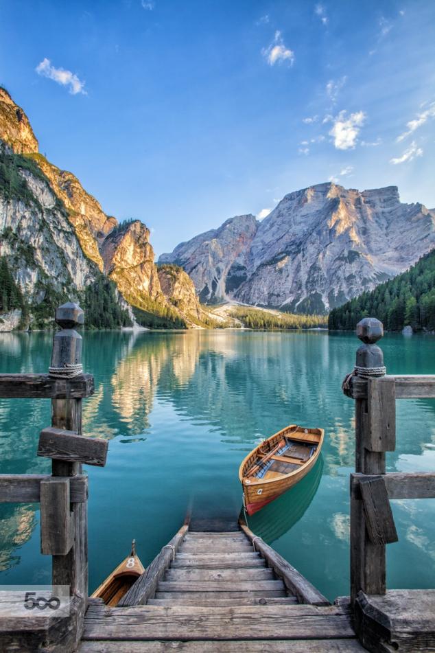 Lago Di Braies Pragser Wildsee Italy FaveThingcom