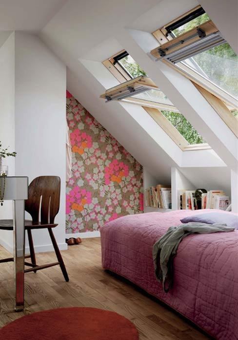 Large swing open attic skylight windows for Large skylights