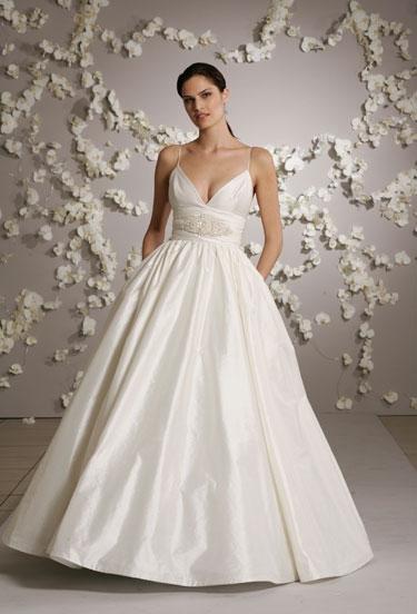 Silk Shantung Wedding Dresses 76