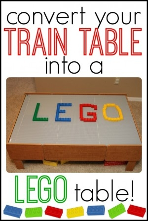 Lego Table, Brilliant!