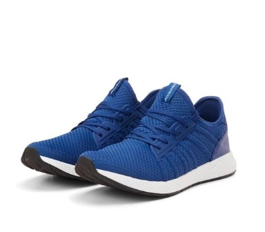 Lightweight Blue Mesh Sneakers - Image 2