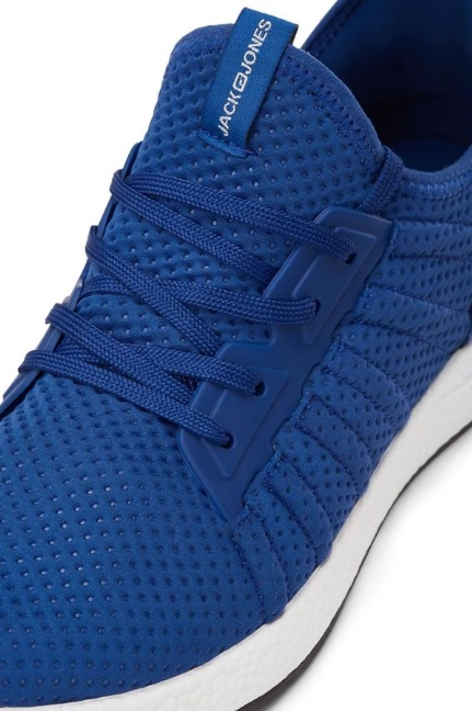 Lightweight Blue Mesh Sneakers - Image 3