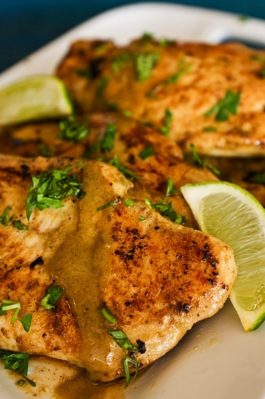 Lime & Coconut Chicken